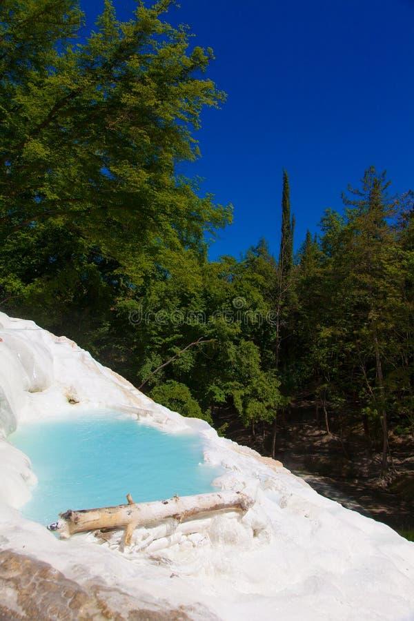 Agua termal imagenes de archivo