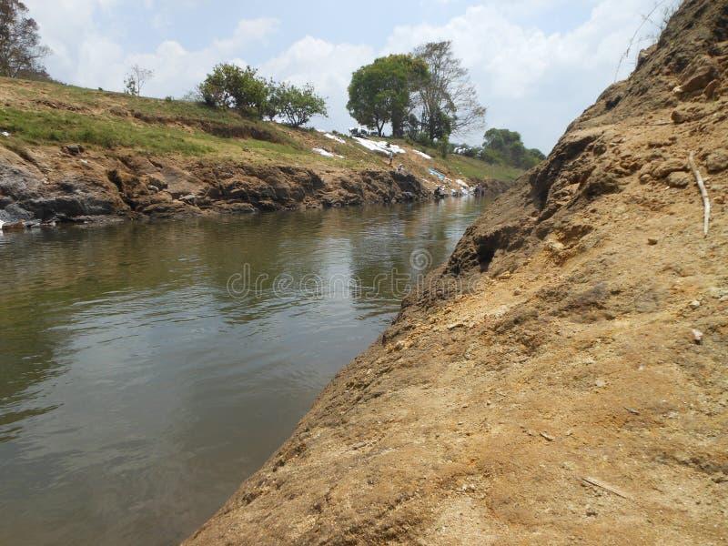 Agua trasera de Thekkady imágenes de archivo libres de regalías