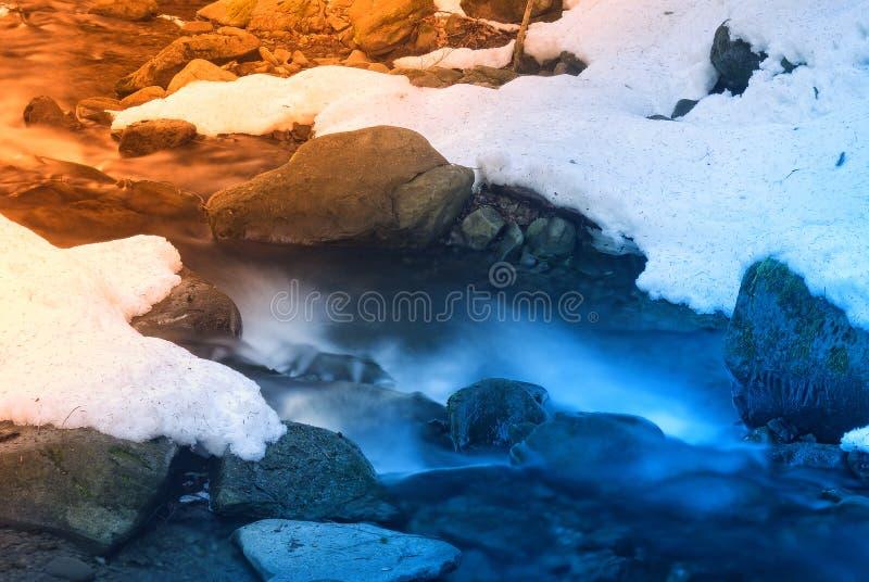 Agua y rocas fotos de archivo libres de regalías