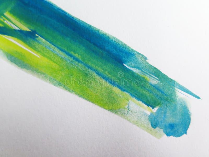 A aguarela abstrata pintou o fundo fotografia de stock