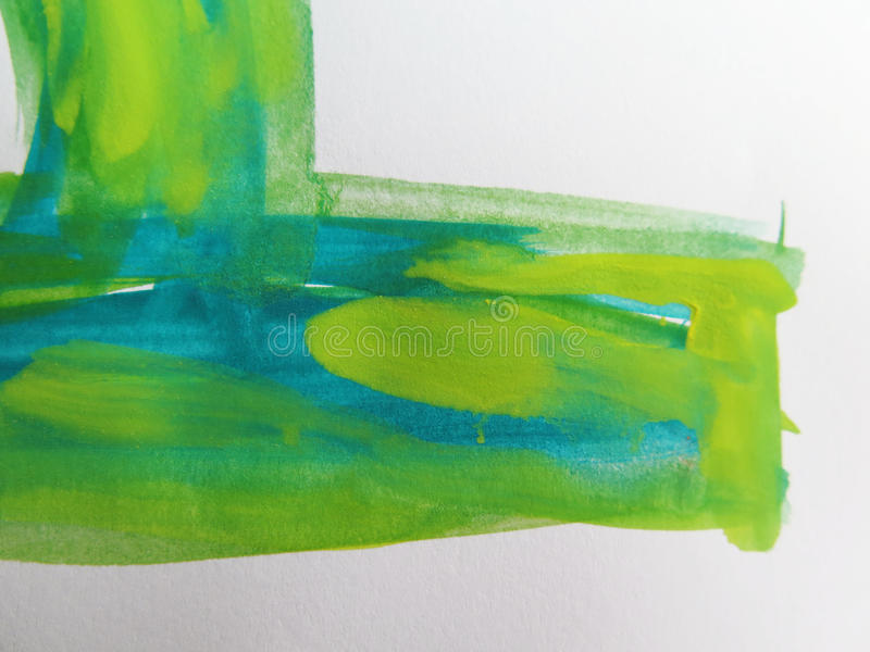 A aguarela abstrata pintou o fundo imagens de stock