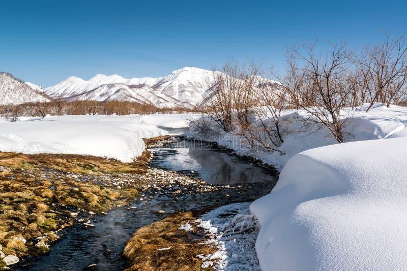 Aguas termales del parque nacional de Nalichevo imagen de archivo libre de regalías