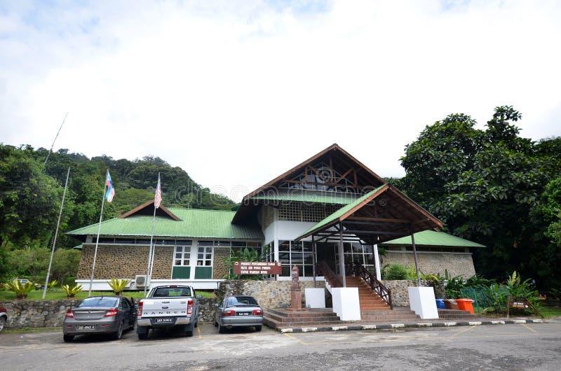 Aguas termales Poring, Sabah, Malasia foto de archivo