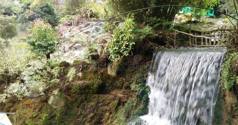 Aguas termales Subang de Ciater fotos de archivo