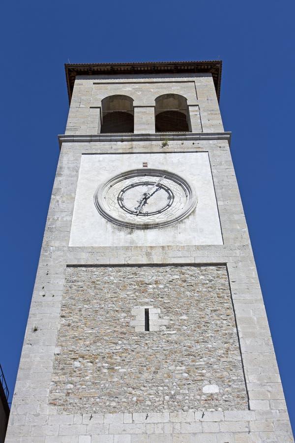Aguja de la catedral Santa Maria Assunta i foto de archivo libre de regalías