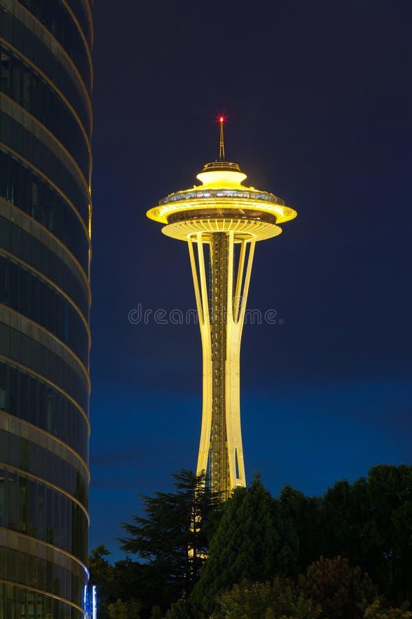 Aguja del espacio de Seattle fotos de archivo