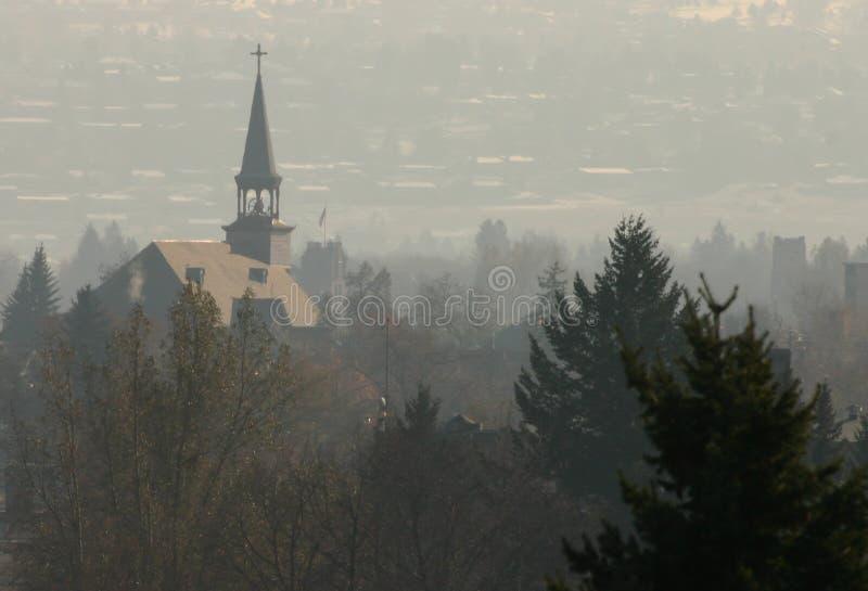 Aguja en niebla fotos de archivo libres de regalías