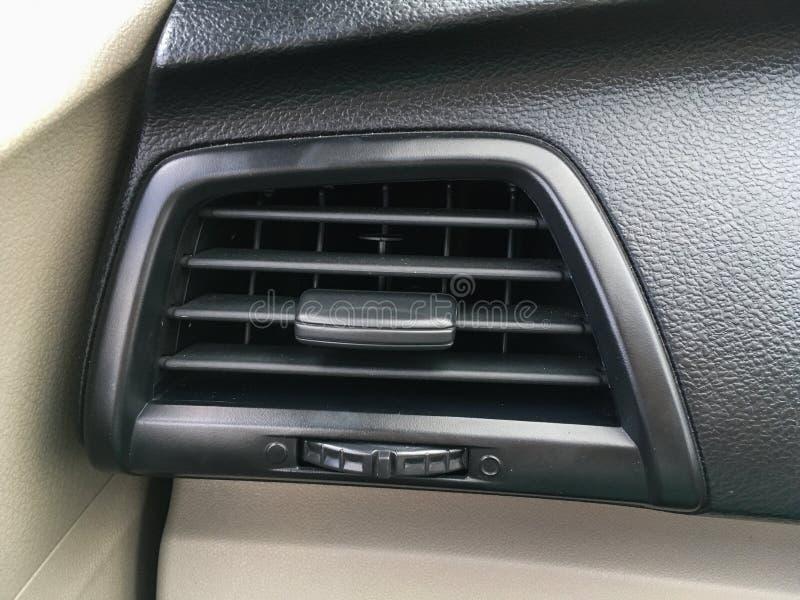Agujero de condicionamiento del coche del aire foto de archivo libre de regalías