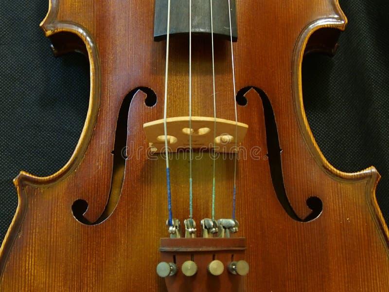 Agujero Melody From The Concert Violin 4/4 de sonidos del violín fotografía de archivo libre de regalías
