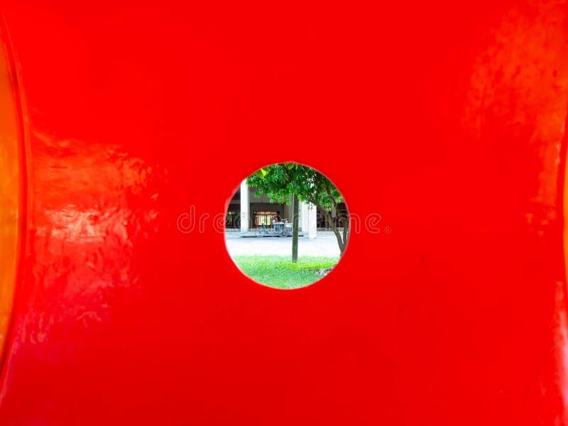 Agujero rojo, rayong Tailandia de Sophon Temple foto de archivo