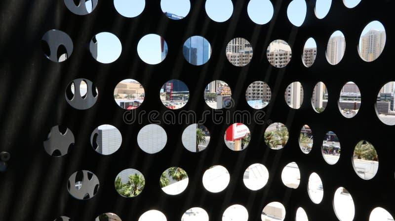 Agujeros del canal de la visión fotos de archivo