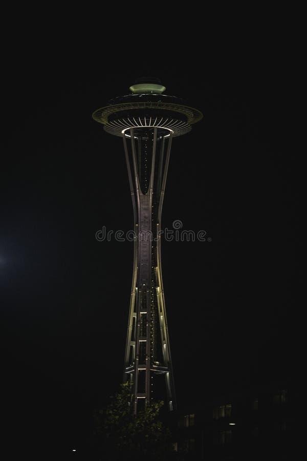Agulha do espaço de Seattle imagem de stock
