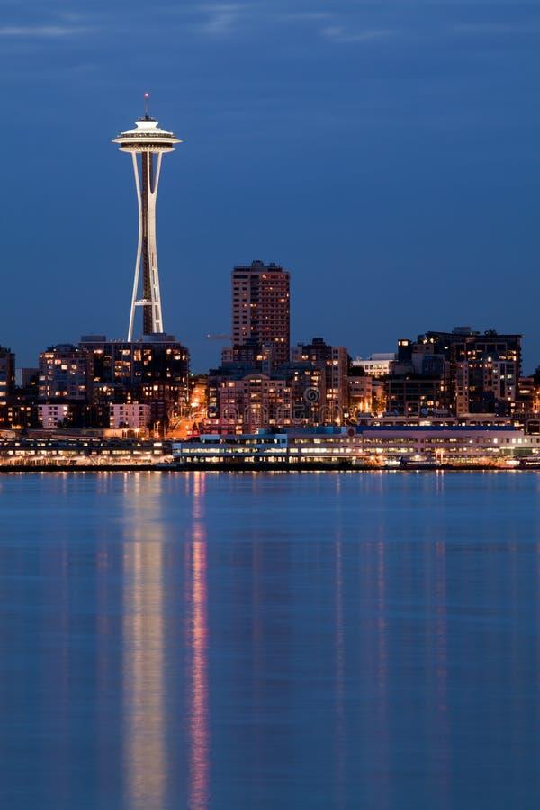 Agulha do espaço de Seattle foto de stock