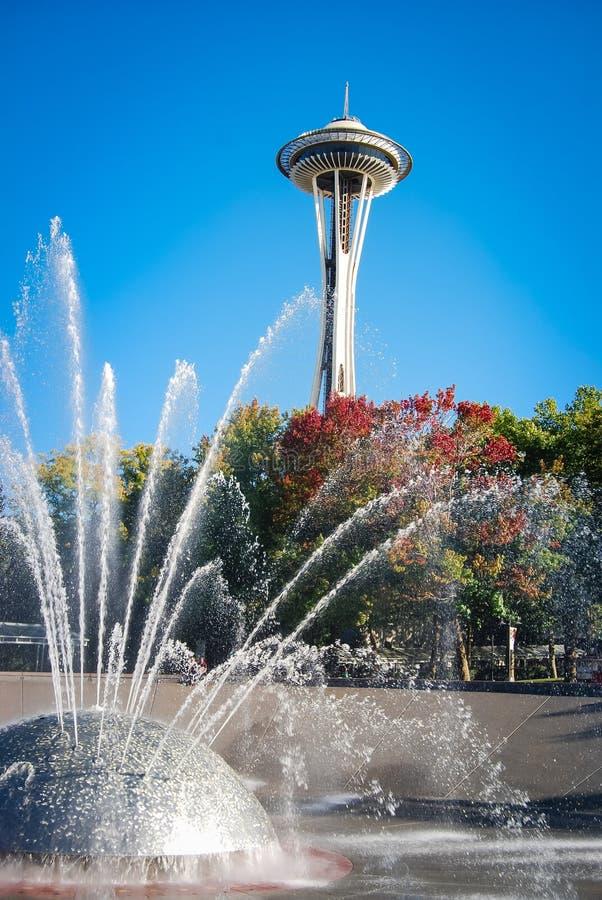 Agulha do espaço de Seattle fotografia de stock royalty free