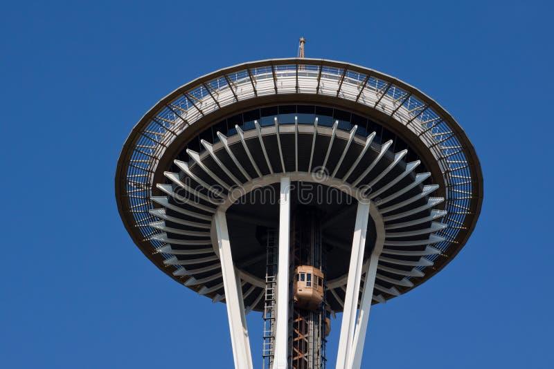 Agulha Seattle do espaço foto de stock royalty free