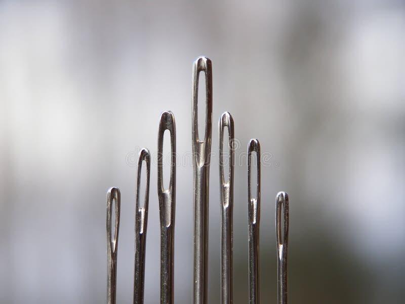 Agulhas do metal imagens de stock royalty free