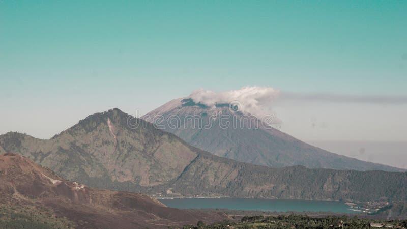 Agung della montagna immagine stock libera da diritti
