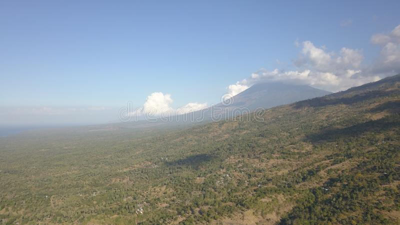 Agung Mount royalty-vrije stock foto