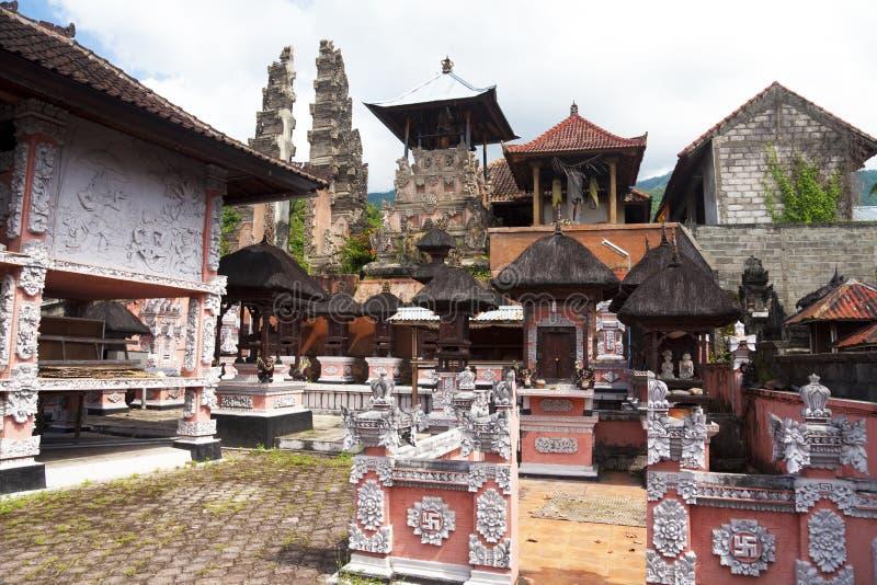 agung pasar pura του Μπαλί Ινδονησία στοκ φωτογραφίες