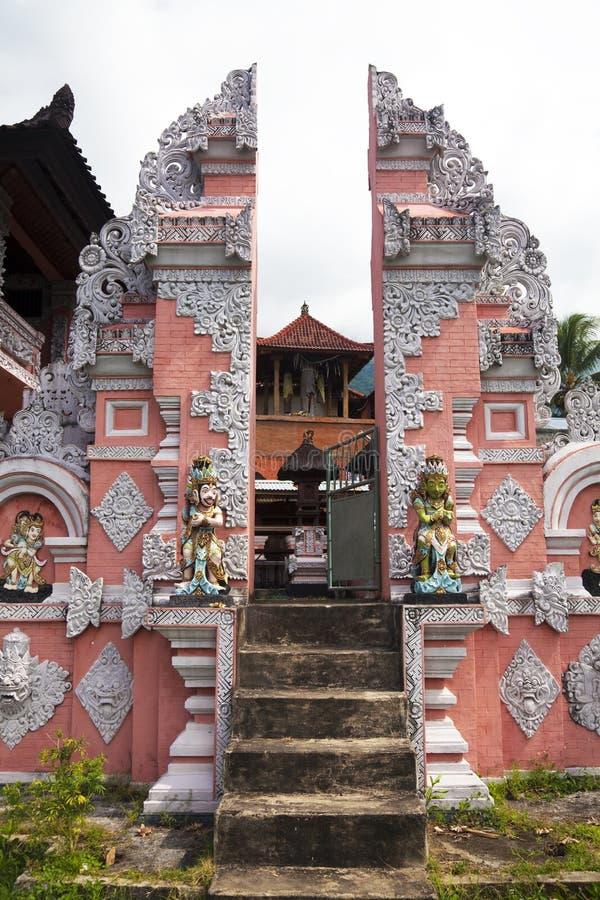 agung pasar pura του Μπαλί Ινδονησία στοκ εικόνες
