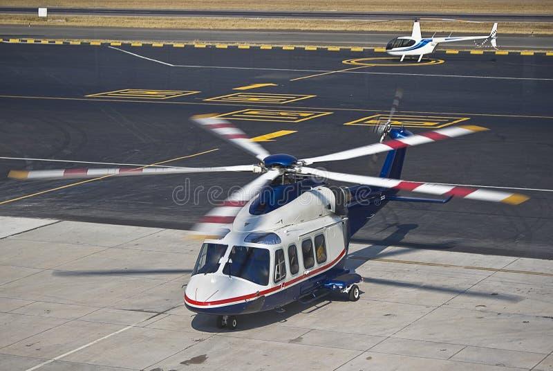agusta aw139 helikopteru westland obrazy stock