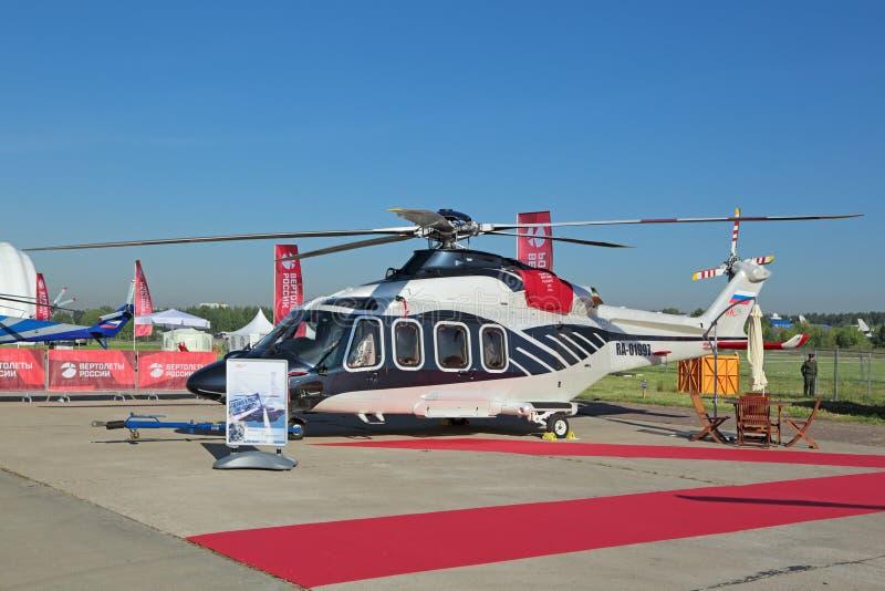 AgustaWestland AW139 helikopter arkivbild