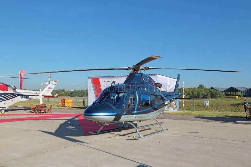 AgustaWestland AW119 Ke考拉 库存照片