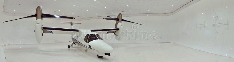 AgustaWestlandaw609 tiltrotor panorama royalty-vrije stock foto