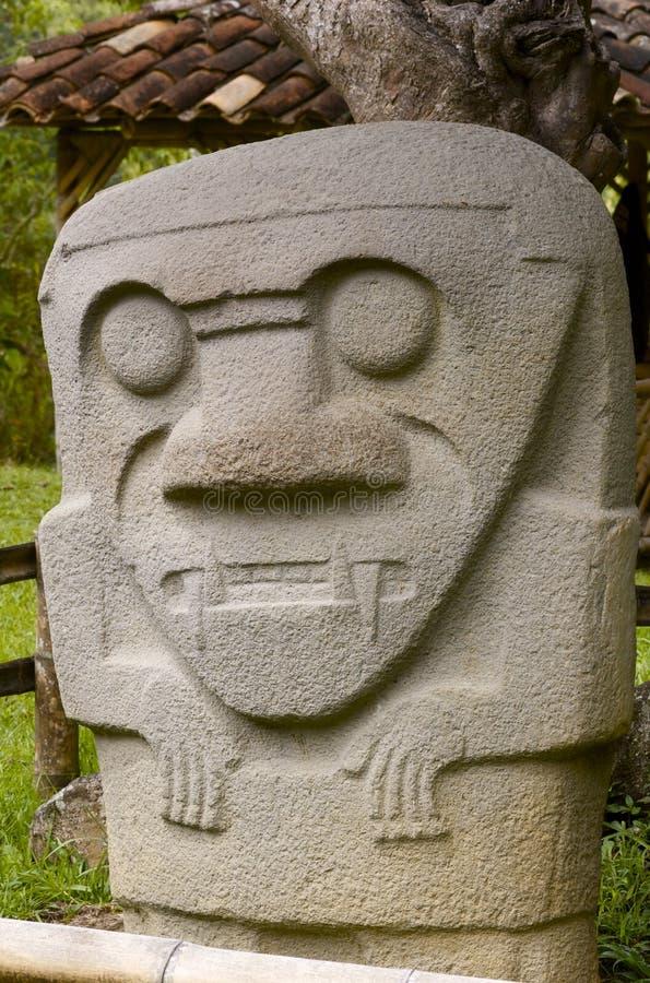 agustin archaelogical哥伦比亚公园圣 免版税库存照片
