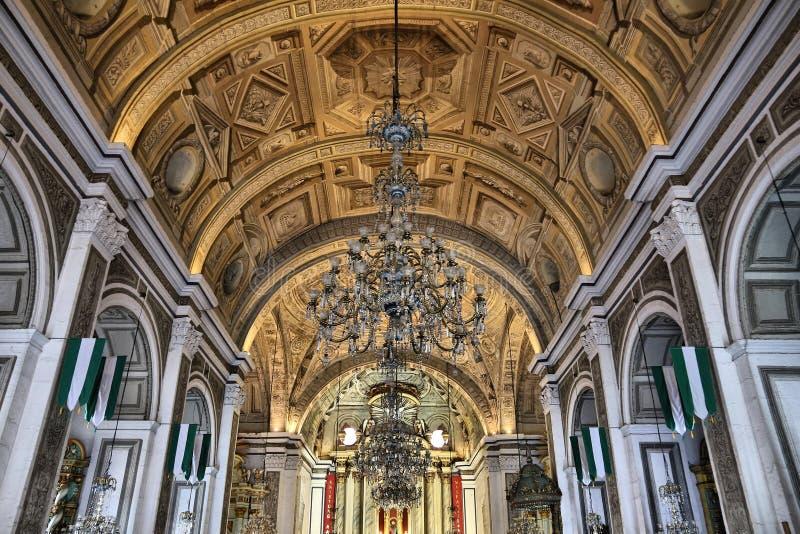 agustin kyrkliga san royaltyfri bild