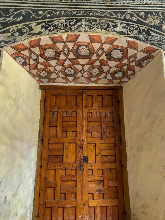 Agustino De Malinalco Klasztor obrazy stock