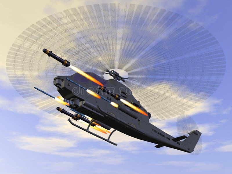 AH 1 SS Cobra royalty-vrije illustratie
