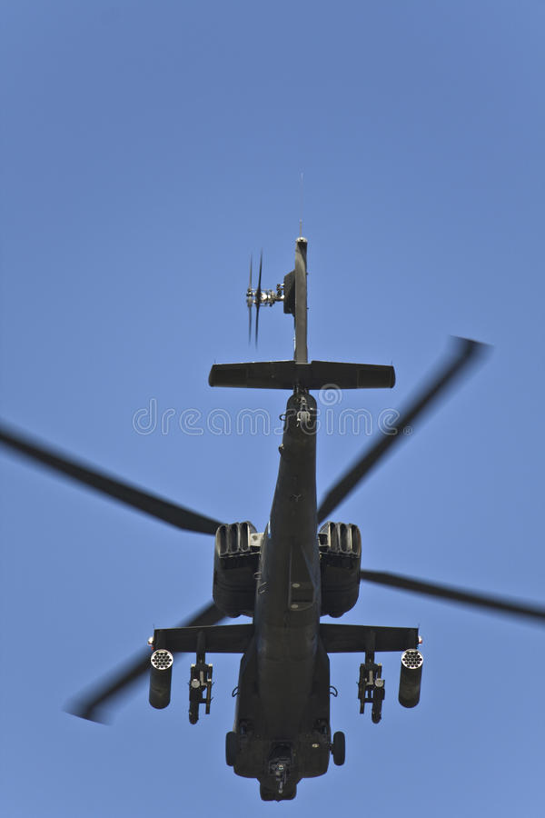 Download AH-64 Apache Military Helicopter Stock Image - Image: 11571321