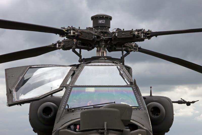Ah-64 Apache royalty-vrije stock foto's