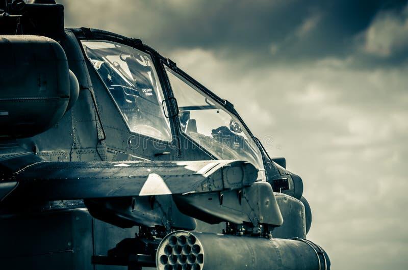 AH-64D Apache fotografía de archivo libre de regalías