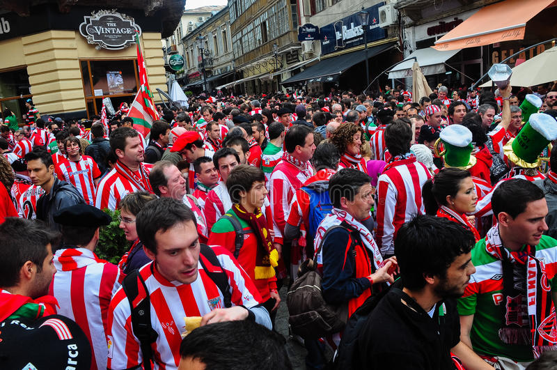 Ahead of Europa League 2012 Final(7) stock photos