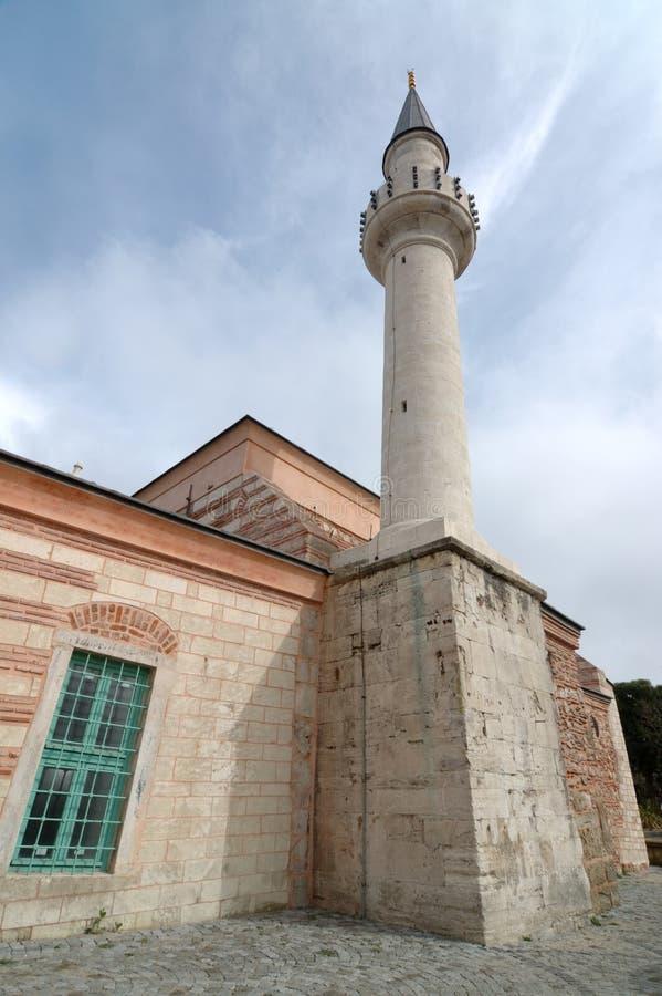 ahi celebi伊斯坦布尔清真寺火鸡 免版税库存照片