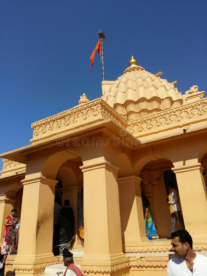 AHILYA BAI索姆纳特寺庙 免版税库存照片