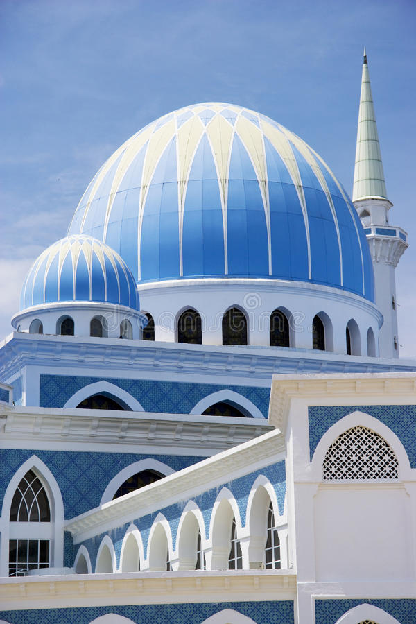 ahmad σουλτάνος μουσουλμανικών τεμενών ι Μαλαισία στοκ εικόνες