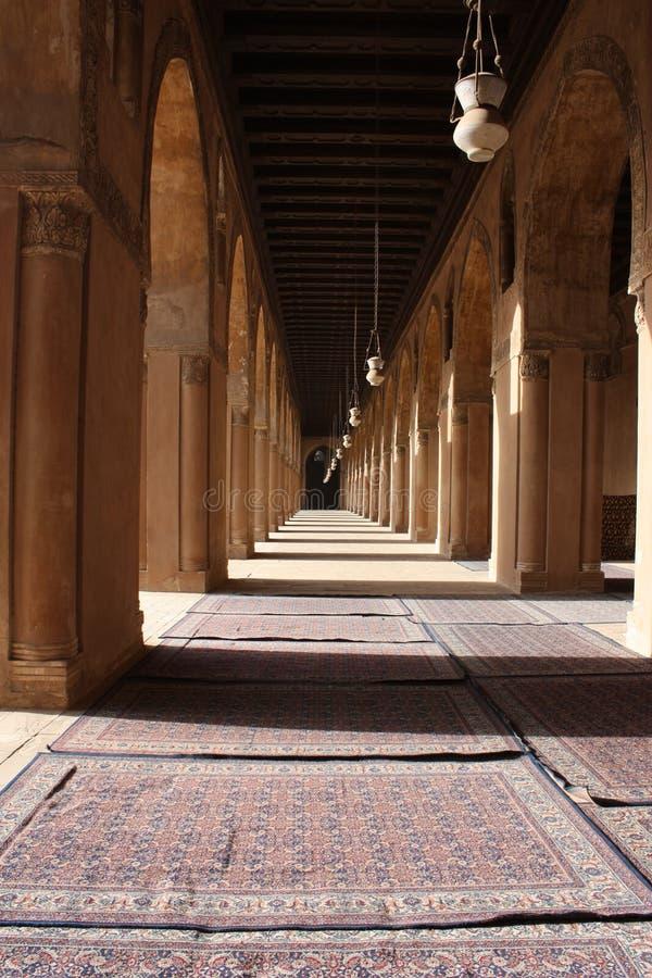 ahmad ibn μουσουλμανικό τέμενο&si στοκ εικόνα