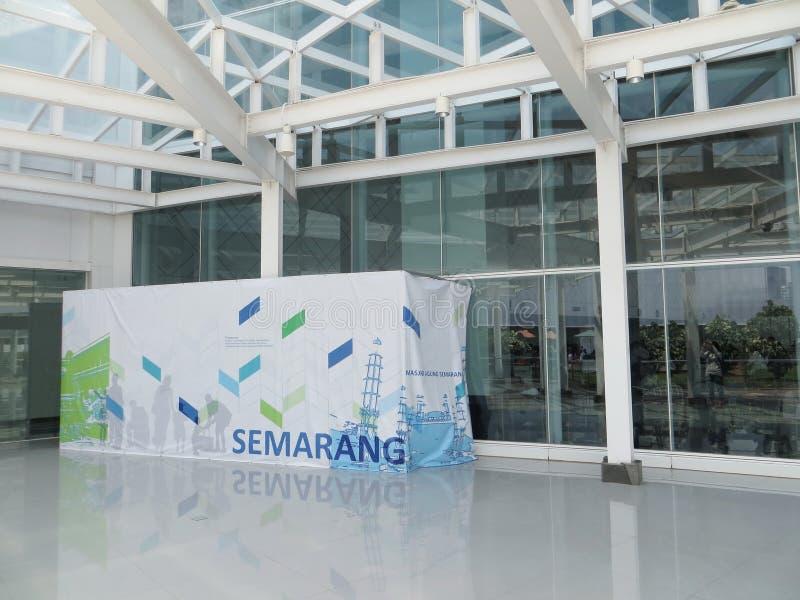 Ahmad Yani-luchthaven in Semarang royalty-vrije stock afbeelding
