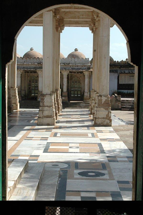 ahmedabad india rojasarkhej royaltyfria bilder