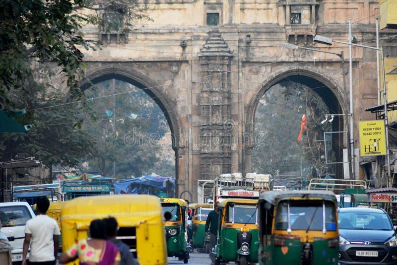 Ahmedabad miasta teren obrazy royalty free