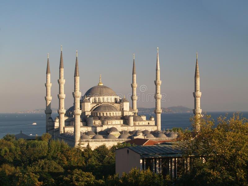 ahmet som berömd moské för blå camii mest sultan royaltyfri fotografi