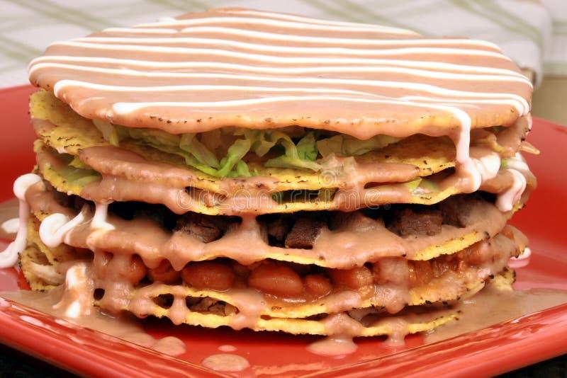 Ahogada mexicain de tostada photo libre de droits