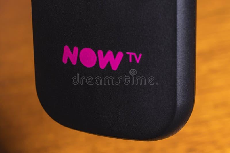 AHORA TV fotos de archivo