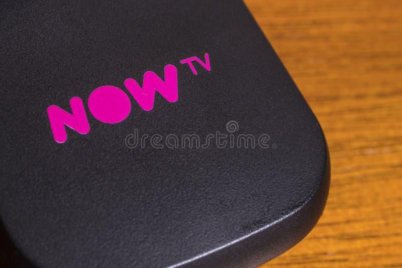 AHORA TV imágenes de archivo libres de regalías