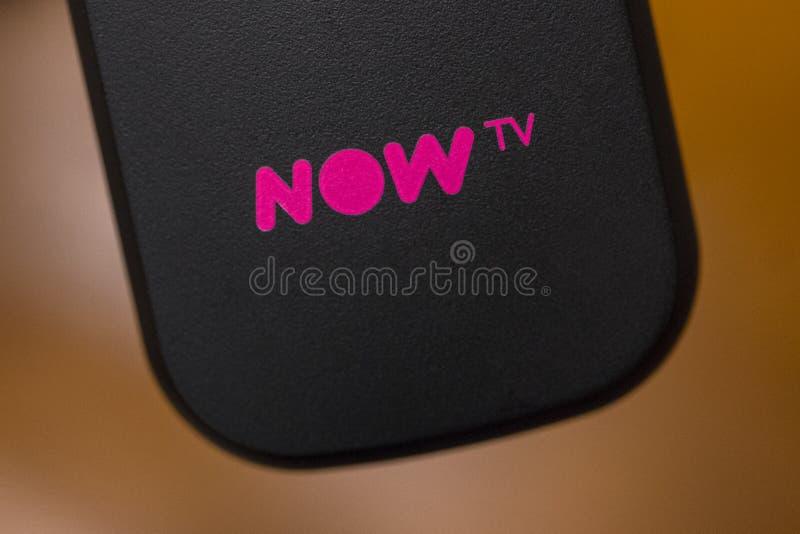 AHORA TV foto de archivo libre de regalías