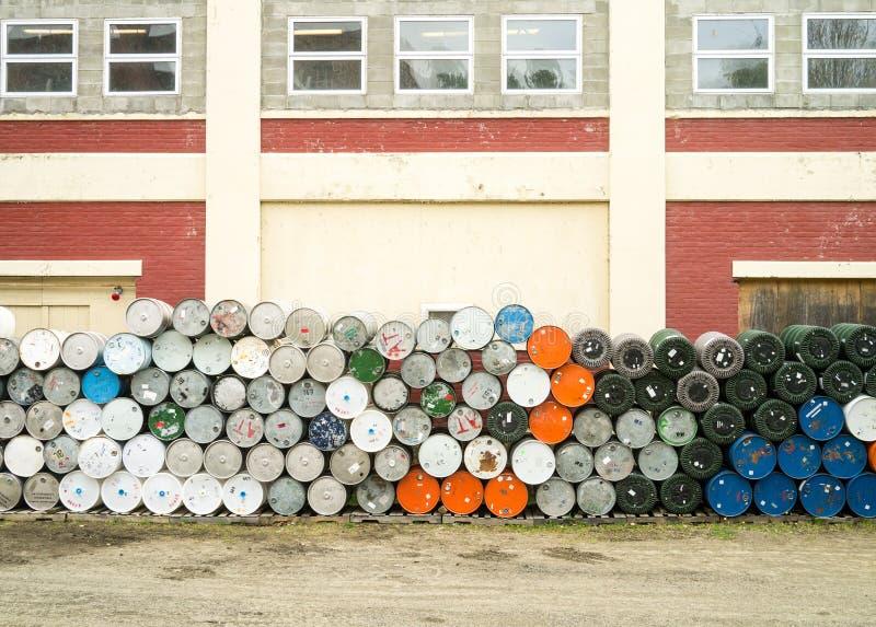 Ahornholz-Sirup-Fabrik - Str. Johnsbury Vermont stockbilder