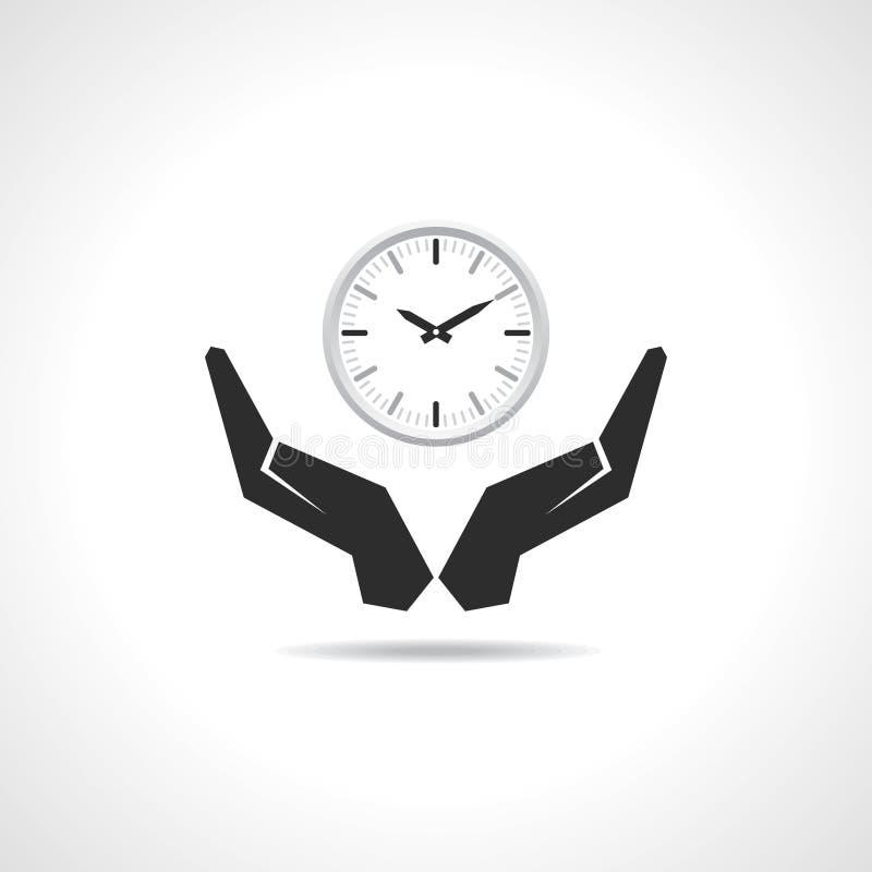 Ahorre el concepto del tiempo ilustración del vector